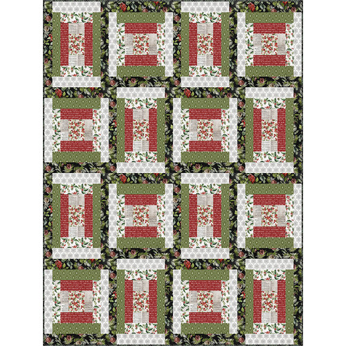 Homestead Spice Quilt featuring Christmastime