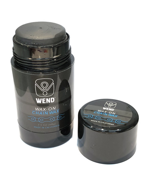 WEND WAX-ON Chain Lube SPECTRUM Colors - BLACK 2.5OZ