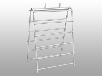 WIRE SADDLE PACK STAND