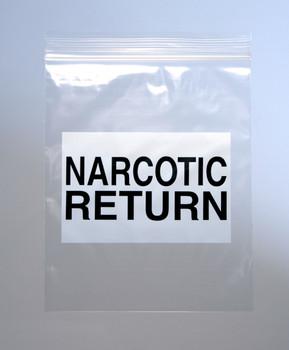 6.5X8 2MIL SEALTOP NARCOTIC RETURN BAG