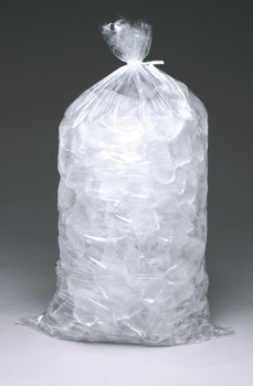 13.5X28 1.75MIL 20LB ICE BAG PLAIN