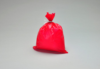 8.5X11 1MIL DRESSING DISPOSAL BAG RED