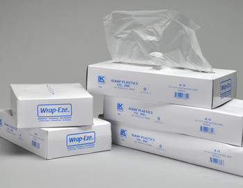 0.45 Mil. 12 X 10 3/ K-12  Poly Bags, PLASTICBAGS4LESS-us