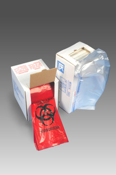 LBOR2424RE  1.5 Mil. LBOR2424RE  Poly Bags, PLASTICBAGS4LESS-us