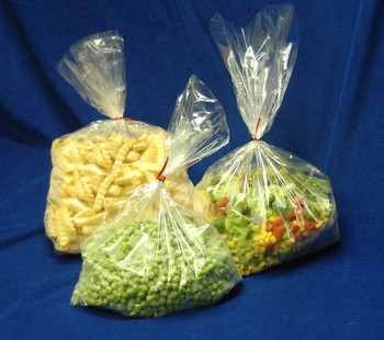 0.8 Mil. 8 X 3 X 15  P8G08315  Poly Bags, PLASTICBAGS4LESS-us