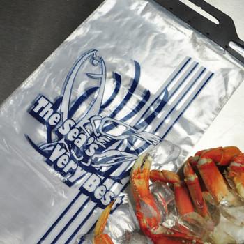 9X15+2LP 1 MIL SEAFOOD BAG PRINTED
