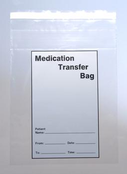 8X10 2MIL MED TRANSFER BAG TMPR EVIDENT