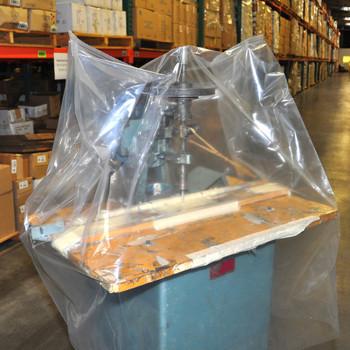4 X 6 .004 CLEAR LDPE BOR 1000/RL