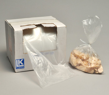 10X14 .5MIL UTILITY BAG ROLL W/TWIST TIE