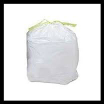 Dog Waste Station drawstring bags extra heavy 1.0 mil CPRO15-WB 50 bags per roll (100 bags per case) 12 to 15 gallon size
