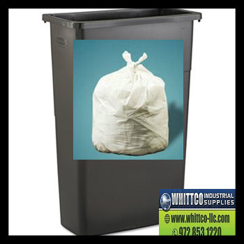 Slim Jim® Can Liners-Trash bags .70 mil Natural/Clear 28x45 XH-N 250/case (PCSJXHN)