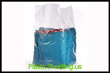 Gusseted Poly Bags 2 mil  15X9X32X002 250/CTN  #1620  Item No./SKU