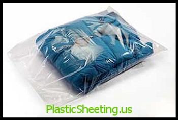 Layflat Poly Bags 1 mil  5X5X001 1000/CTN  #2228  Item No./SKU
