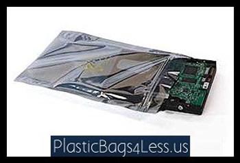 Static Shielding Reclosable Bags ZT Static Shielding 6X10 100/CS  #4154  Item No./SKU