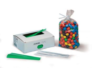 "Color Paper Covered Twist Ties Twist Ties 8"" COLOR 2000  #4900  Item No./SKU"