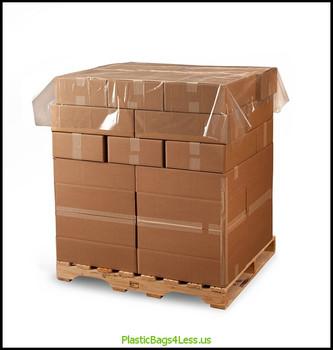 Poly Sheeting / Pallet Top Sheets 2 mil CL PLT TOP 60X60 175/RL  #4973  Item No./SKU