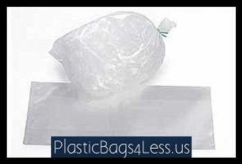 5 Lbs. Heavy Duty Ice Bags 2 mil  6X3X18X002 ICE BAG 1M  #4985  Item No./SKU