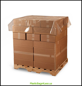 Poly Sheeting / Pallet Top Sheets 1 mil SOR 72X72X001 300/RL  #5986  Item No./SKU