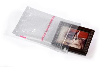 Bubble Reclosable Bags 6X8 50/CTN  #7645  Item No./SKU