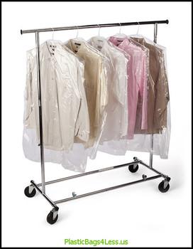Garment Bags on a Roll 0.6 mil  21X4X72X0006 270/RL  #8014  Item No./SKU