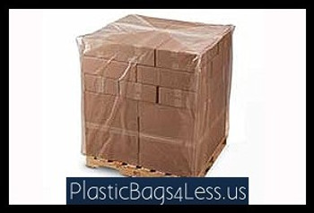 Gusseted Bags on a Roll 4 mil  50X48X84X004 25/RL  #10819  Item No./SKU