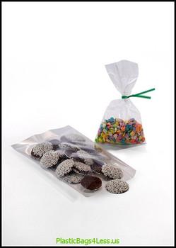 Polypropylene Bags 1.5 mil 3X5.5X0015 1000/C  #13005  Item No./SKU