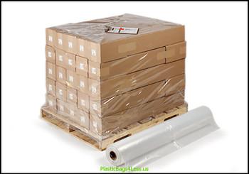 Pallet Size Shrink Bags on Rolls  50X44X57X004 25/RL  #13520  Item No./SKU