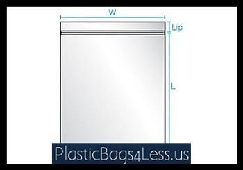 Reclosable Bags 3 mil 8X10X003 1000/CTN  #4325A  Item No./SKU