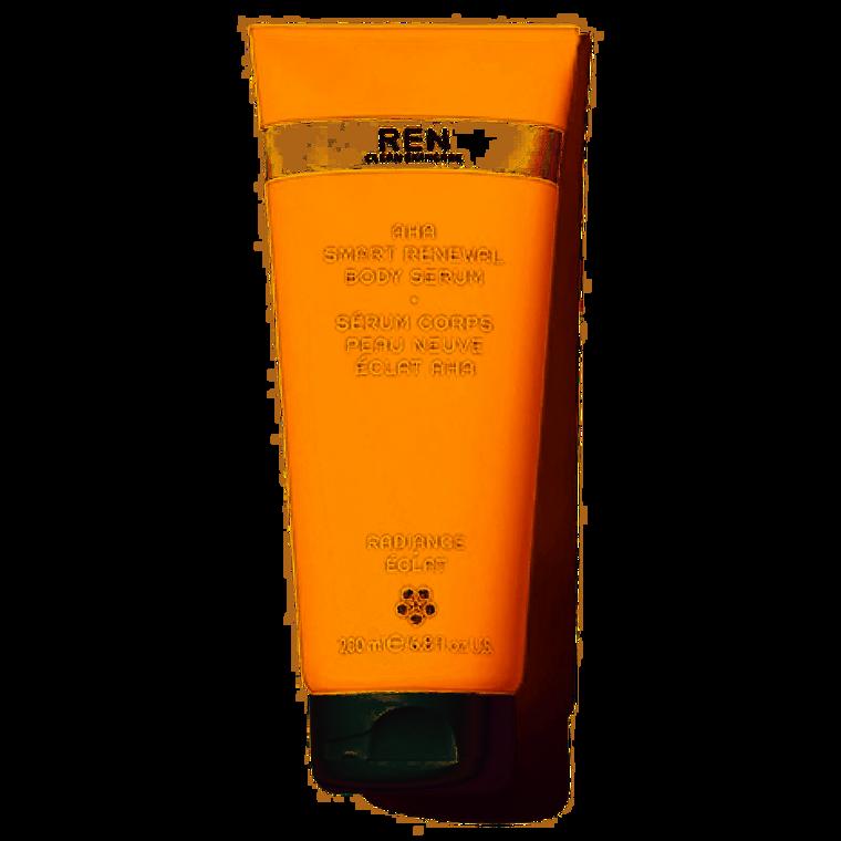 Ren Clean Skincare AHA Smart Renewal Body Serum -  Hydrating, exfoliating body serum