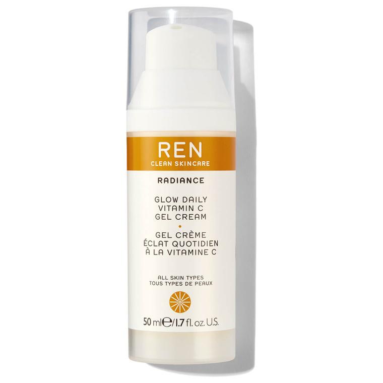 Ren Clean Skincare Glow Daily Vitamin C Gel Cream -  Lightweight moisturiser for instant and daily brightening.