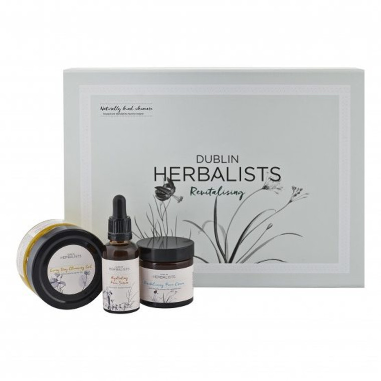 Dublin Herbalist- 3-Step Revitalising Ritual  Cleanse, Hydrate & Revitalise