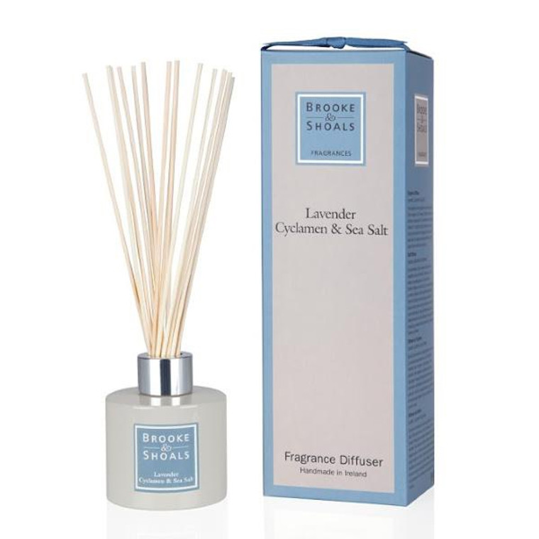 Fragrance Diffuser - Lavender, Cyclamen & Sea Salt