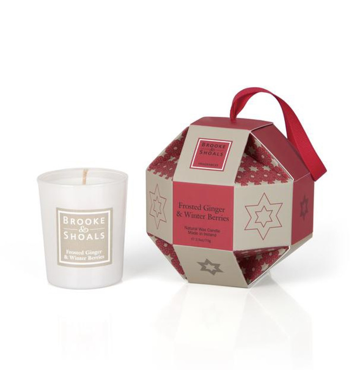 Froster Ginger & Winter Berries Christmas Bauble