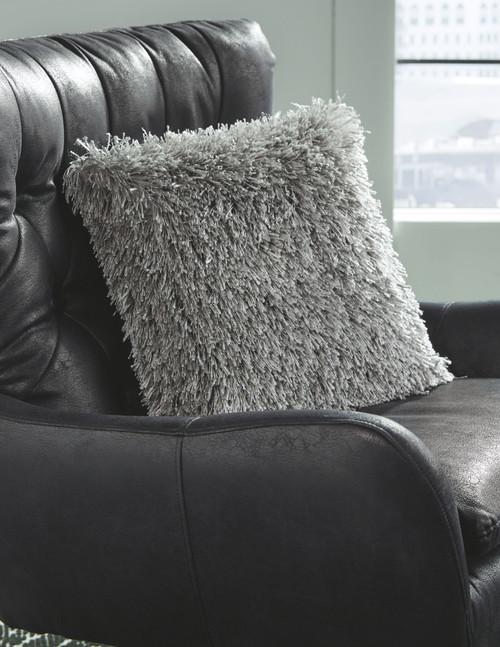Jasmen Gray Pillow  (4/CS)