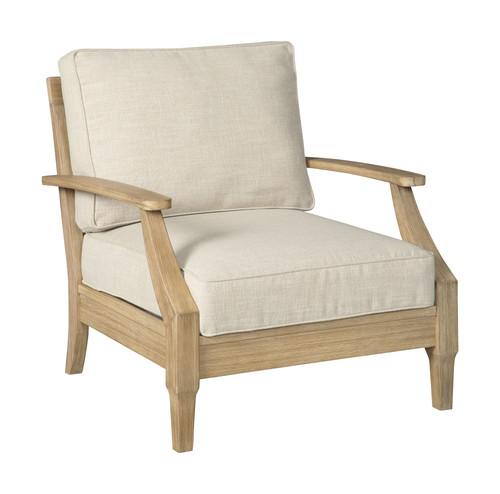 Clare View Beige Lounge Chair w/Cushion (1/CN)