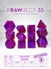 PRAWJECT:35 RAW RPG Dice Set
