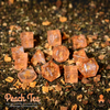 Peach Tea 12pc DnD Dice Set With Kraken Logo