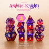 Arabian Knights 12pc DnD Dice Set With Kraken Logo