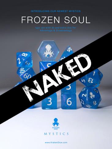 Frozen Soul 14pc Naked Dice Set With Kraken Logo