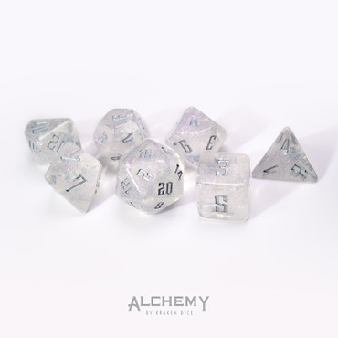 7pc Fractured Prism with Silver Ink