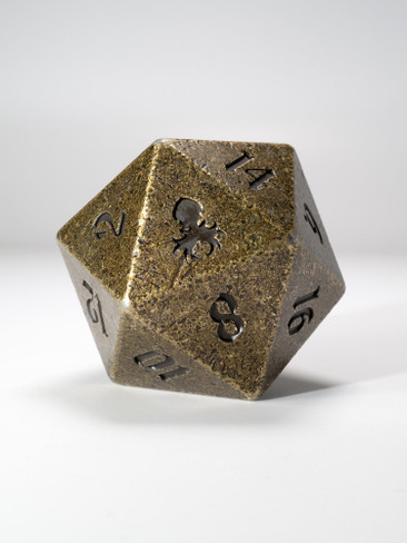 Goliath Rite of Brass 40mm Single D20