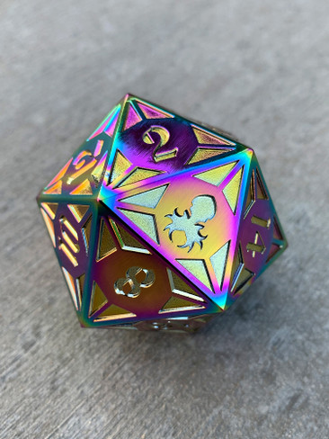 Fullmetal Gothik Flame Goliath single D20