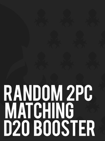 Random 2pc Matching d20 booster