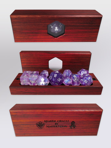 Kraken's Oracle Paduk Dice Vault by Master Monk
