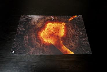 Kraken Dice RPG Encounter Map Quick Mat- Volcano by MapHammer