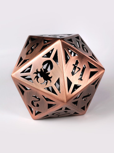 Archon: Copper 130mm Hollow D20