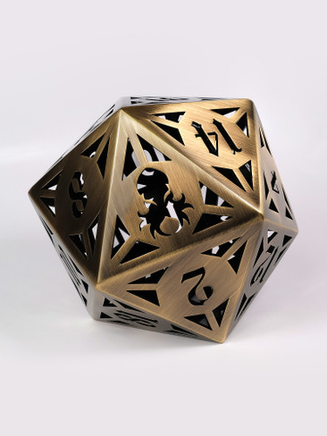 Archon: Bronze 130mm Hollow D20