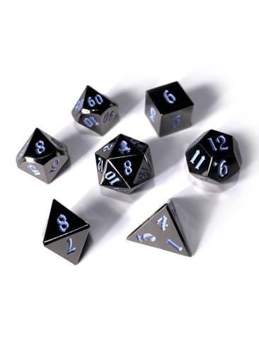 Mini Djinn's Dark Rite 10mm Metal Dice Set for RPGS