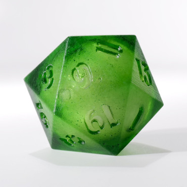 RAW Green Liquid Core Single D20