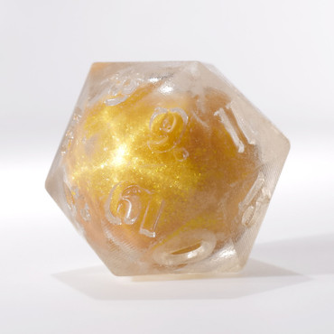 RAW Gold Liquid Core Single D20